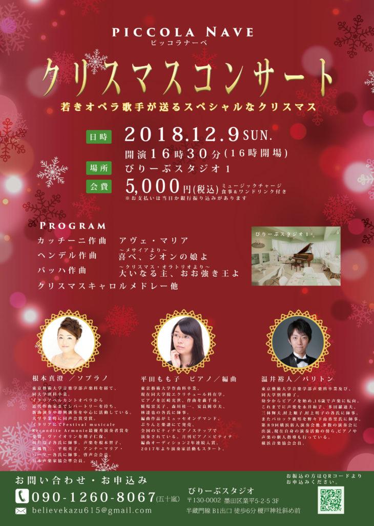 ピッコラナーベ クリスマスコンサート